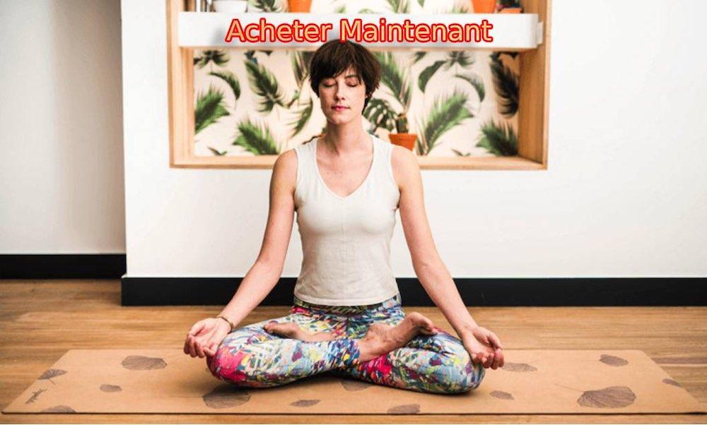 Tapis de yoga antidérapant bio